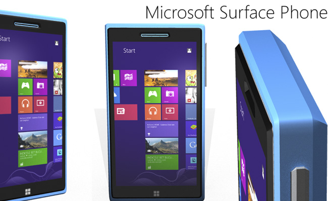 Concept del Surface Phone