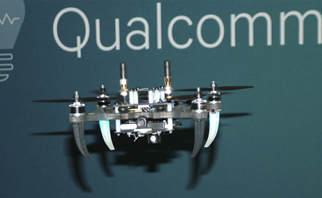Qualcomm y sus drones crean expectación