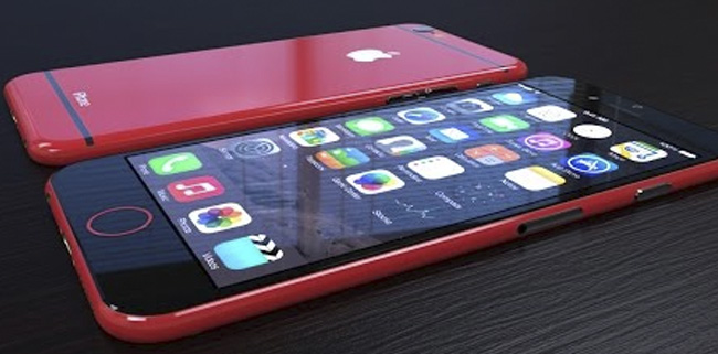 Concept de iPhone 6C rojo