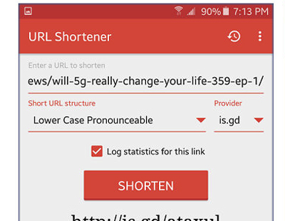 How to use URL Shortener