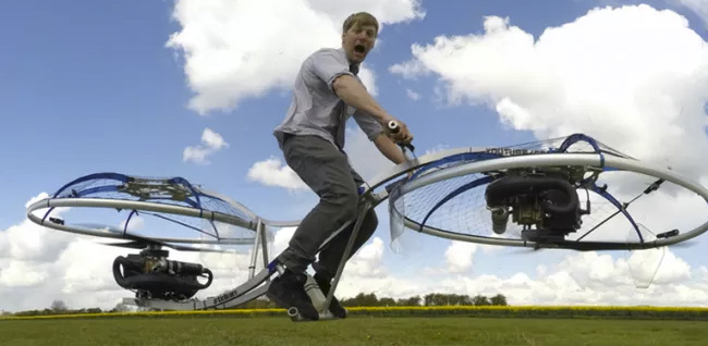 Hoverbike by Colin Furze