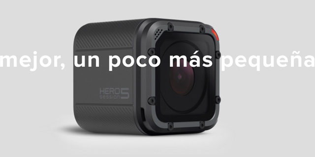 Nueva HERO 5 Session de GoPro