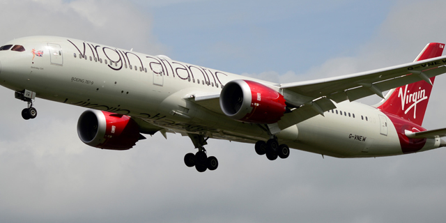 Aviones Virgin Atlantic