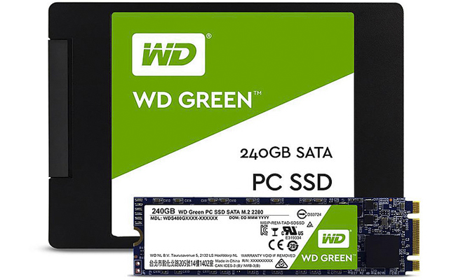Disco SSD WD Green