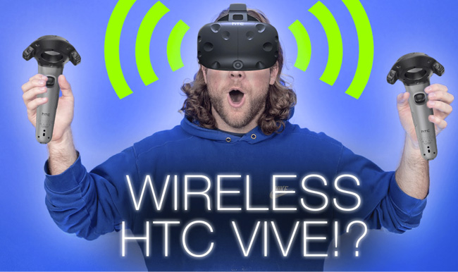 HTC Vive sin cables